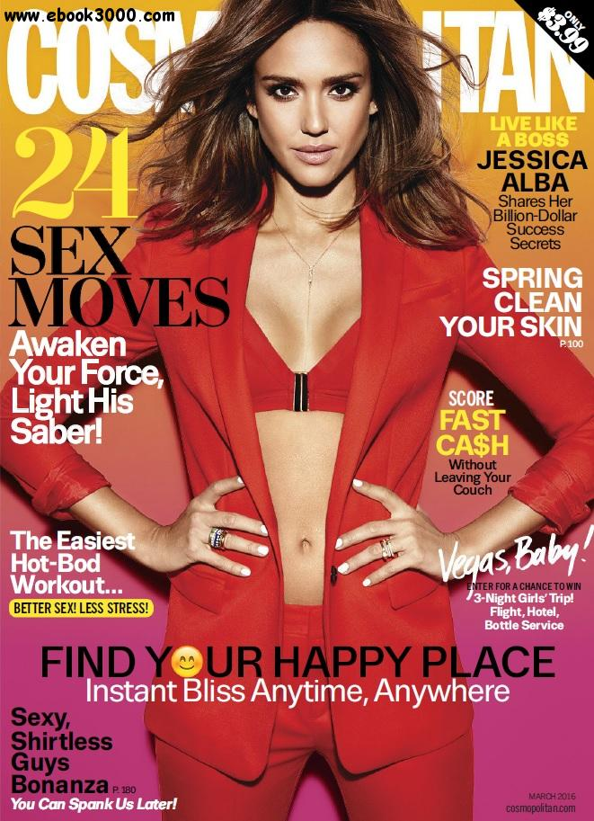 Cosmopolitan USA - March 2016 free download