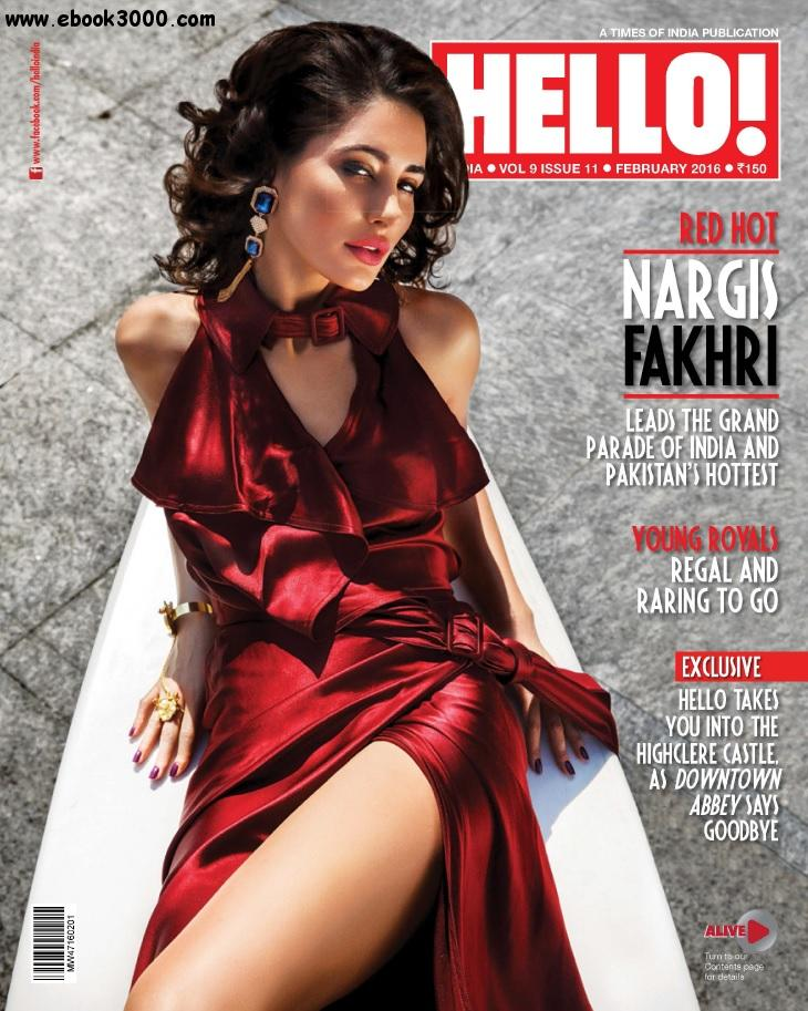 Hello! India - February 2016 free download