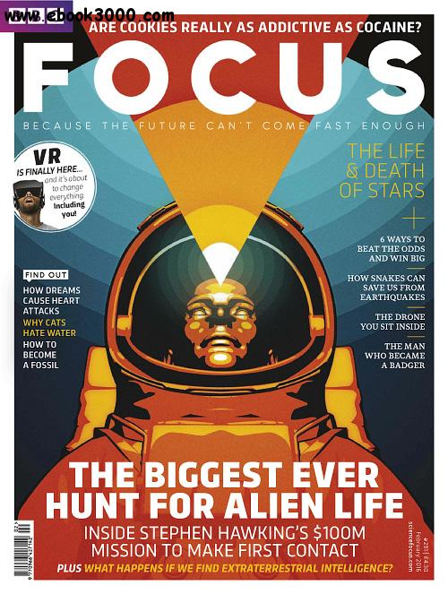 BBC Focus - February 2016 free download
