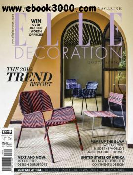 Elle Decoration South Africa - February - March 2016 free download