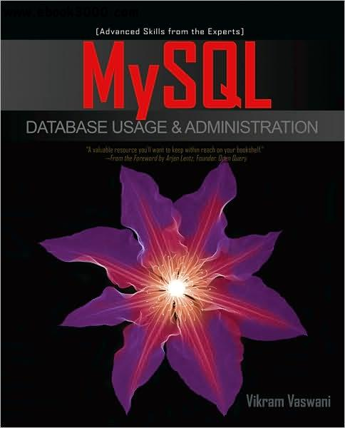 MySQL Database Usage & Administration free download