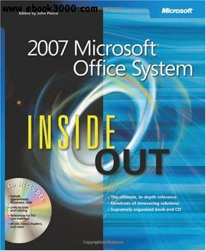 2007 Microsoft Office System Inside Out free download
