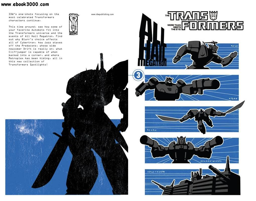 The Transformers - All Hail Megatron Vol. 03 (2009) free download