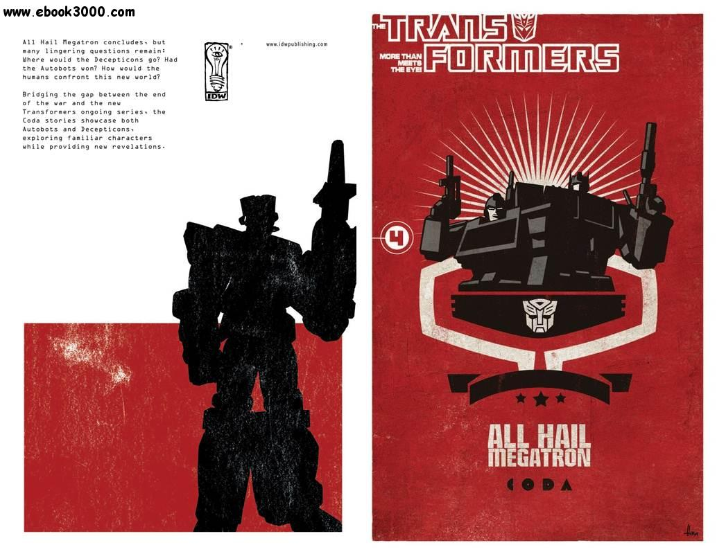 The Transformers - All Hail Megatron Vol. 04 (2010) free download