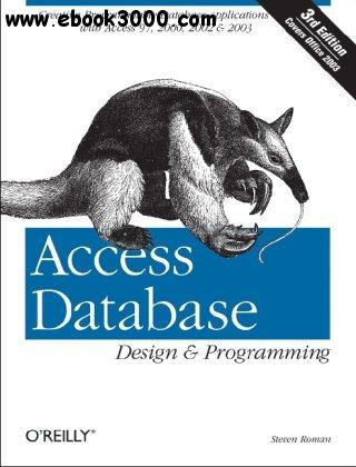 Access Database Design & Programming, 3rd Edition free download