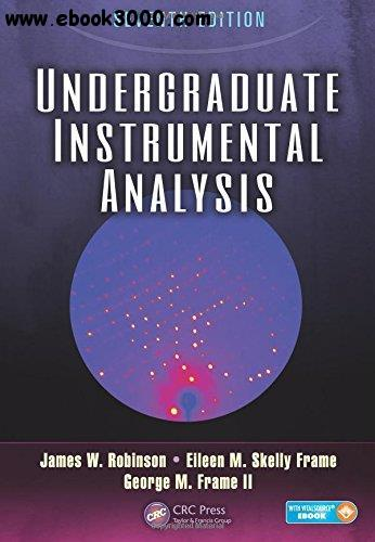 Undergraduate Instrumental Analysis, 7th edition free download