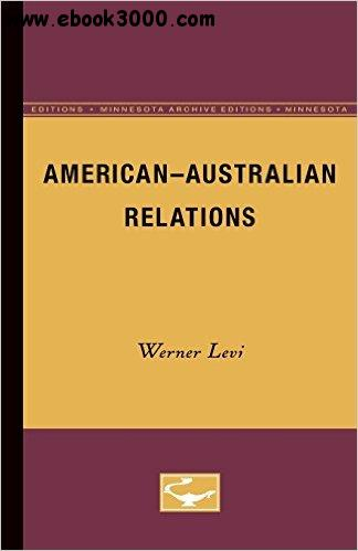 American-Australian Relations free download