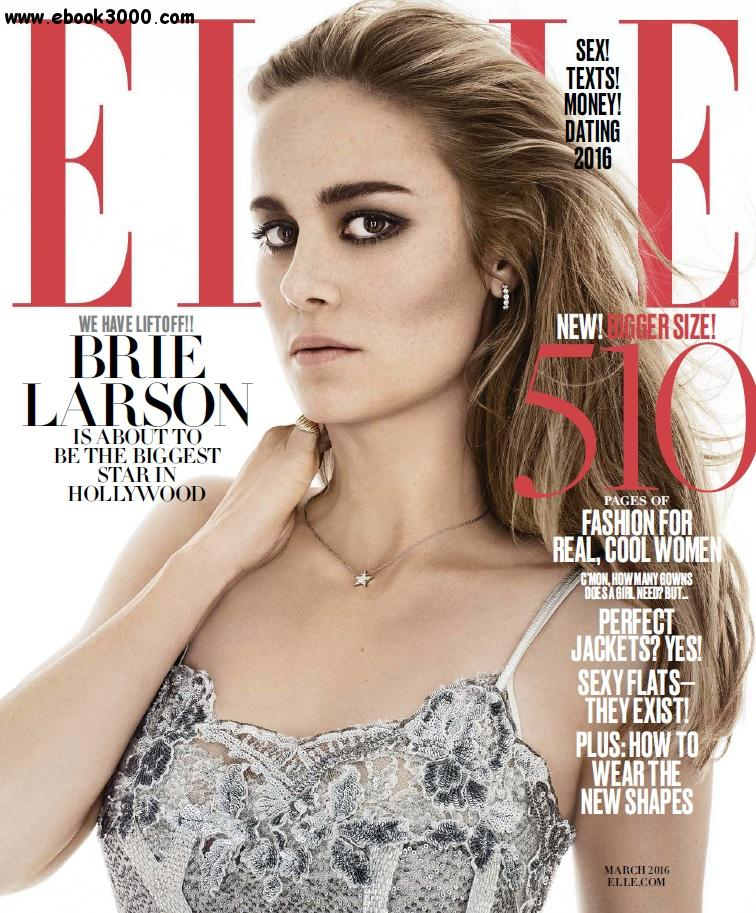 ELLE USA - March 2016 free download