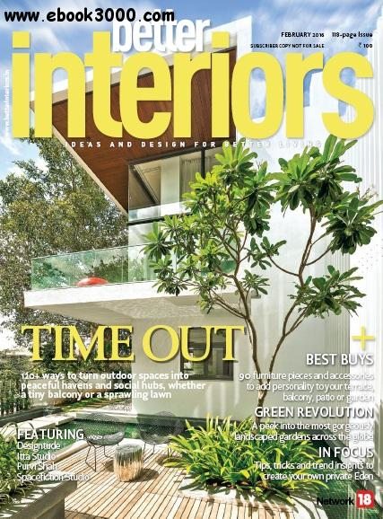 Better Interiors - February 2016 free download