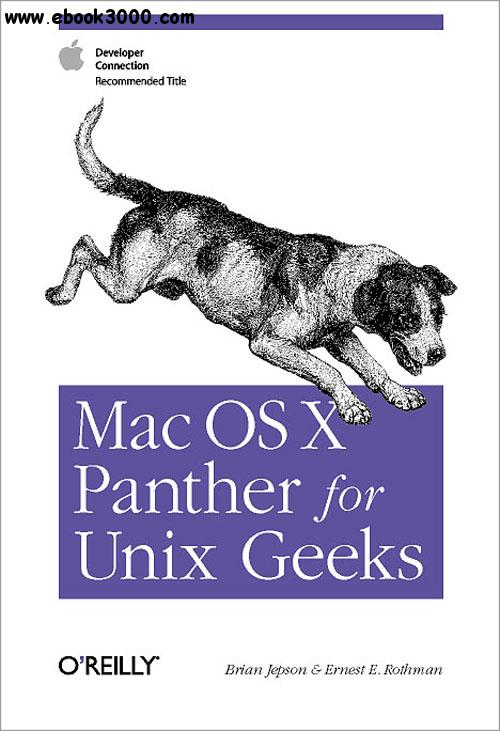 Mac OS X Panther for Unix Geeks free download