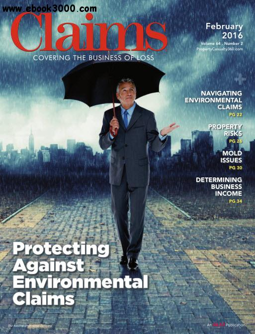 Claims - February 2016 free download