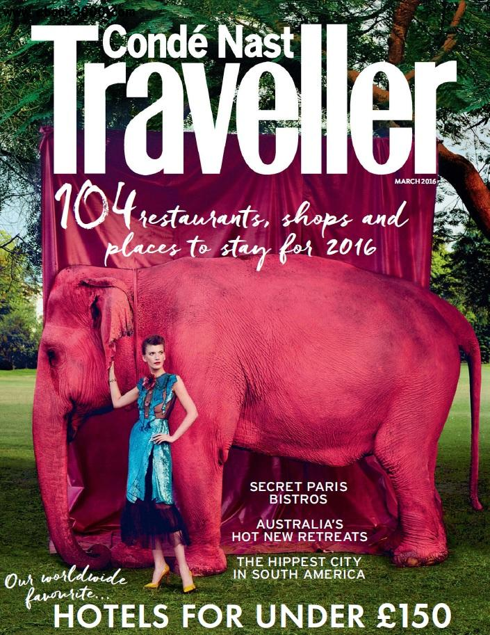 Conde Nast Traveller UK - March 2016 free download