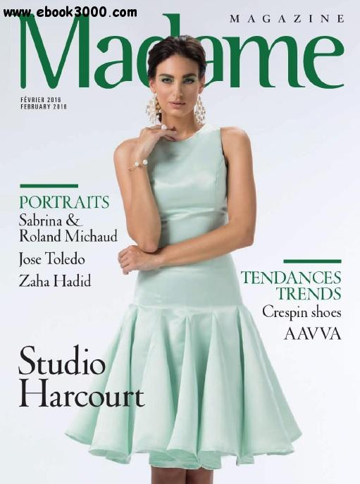 Madame Magazine - Fevrier 2016 free download