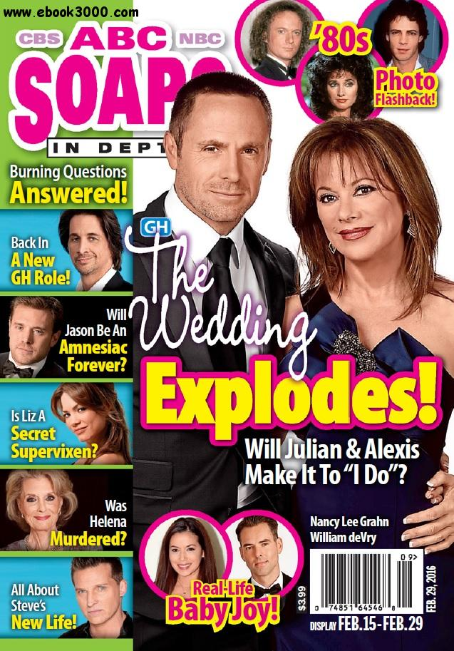 ABC Soaps In Depth - 15 February 2016 free download