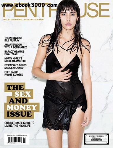 Penthouse Australia - March 2016 free download