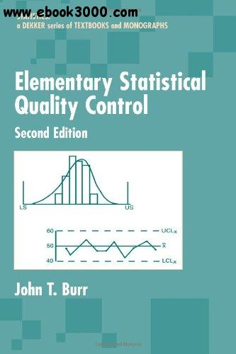 Elementary Statistical Quality Control, 2nd  Edition free download
