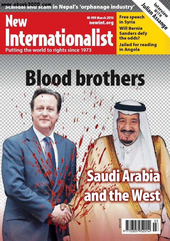 New Internationalist - March 2016 free download