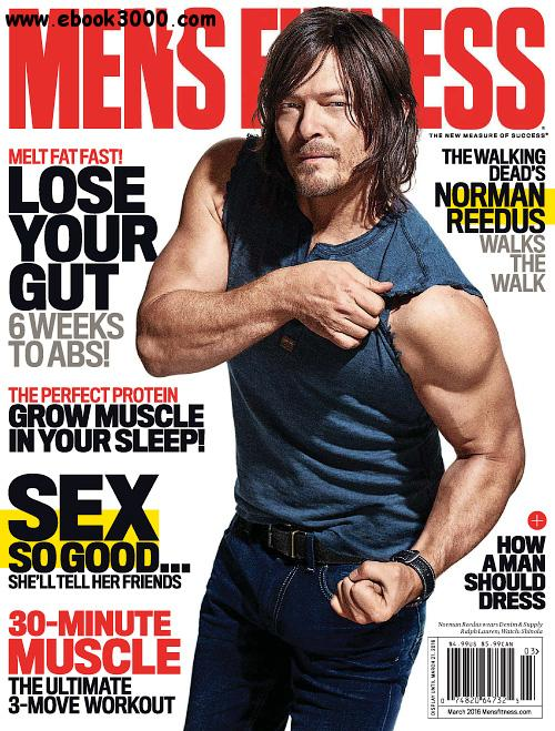 Men's Fitness USA - March 2016 free download