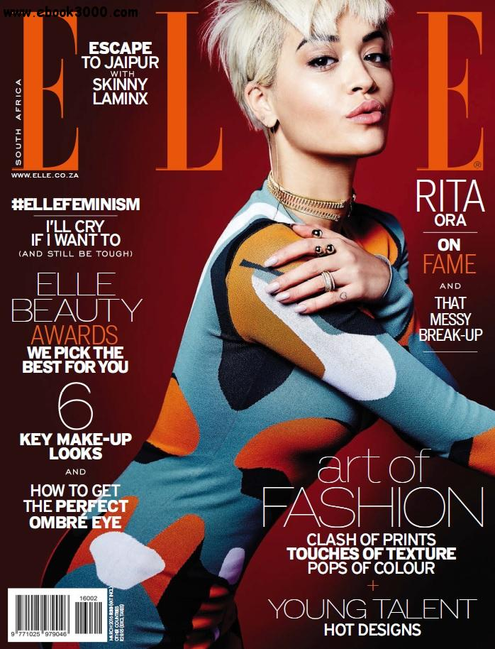 Elle South Africa - March 2016 free download