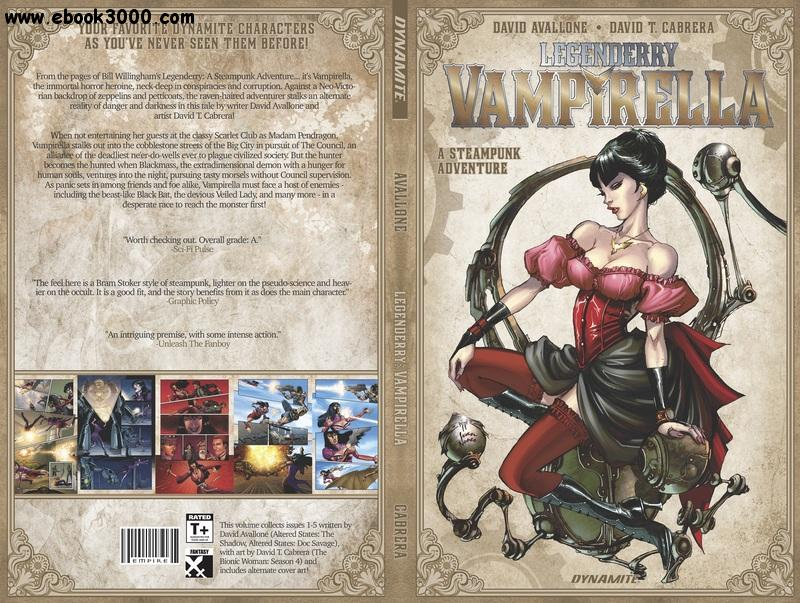 Legenderry - Vampirella Vol 1 TPB (2015) free download