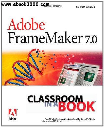 Adobe FrameMaker 7.0 Classroom in a Book free download