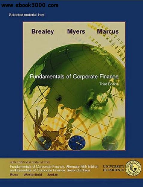 Fundamentals of Corporate Finance (Selected Material from) free download