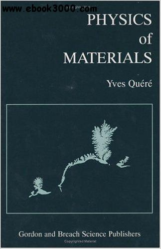 Physics of Materials free download