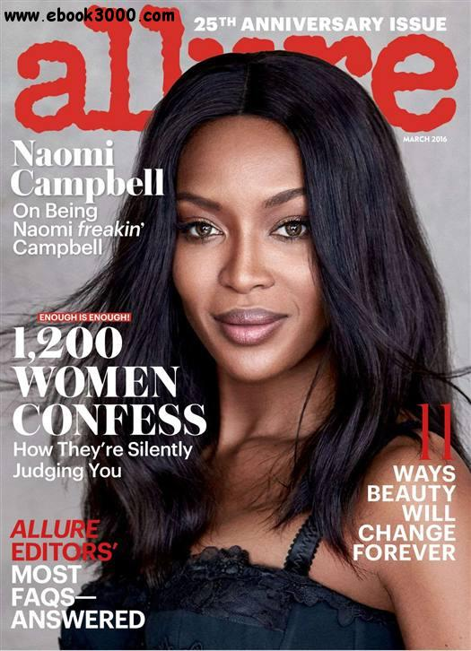 Allure USA - March 2016 free download