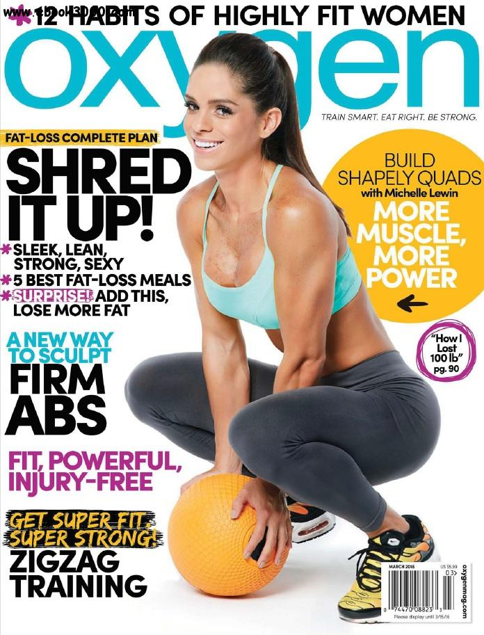 Oxygen USA - March 2016 free download