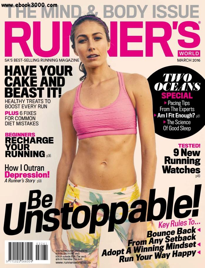 Runner's World South Africa - March 2016 free download
