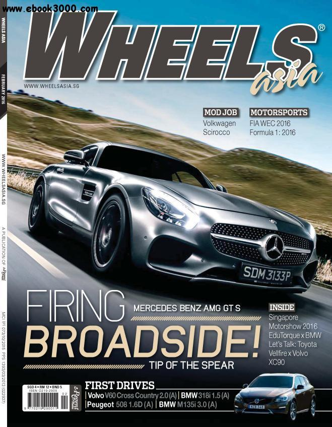 Wheels Asia - February 2016 free download