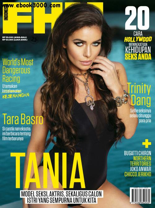 FHM Indonesia - February 2016 free download