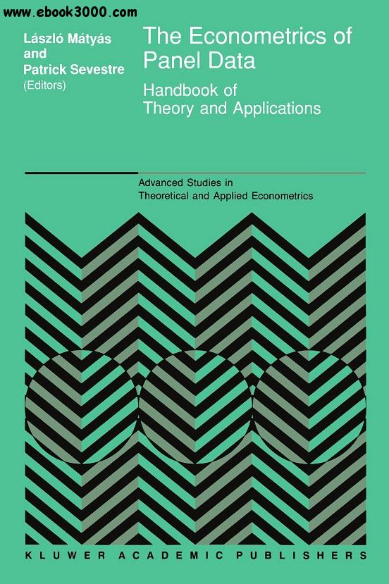 The Econometrics of Panel data: Handbook of Theory and Applications free download