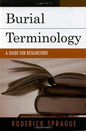 Burial Terminology: A Guide for Researchers free download
