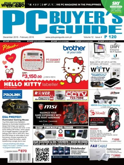 PC Buyer's Guide - December 2015 - February 2016 free download