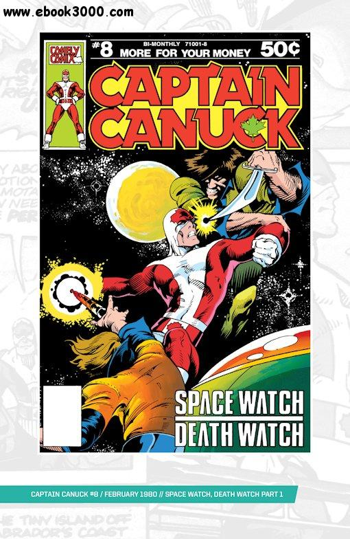 Captain Canuck Original Series 008 (1980) free download