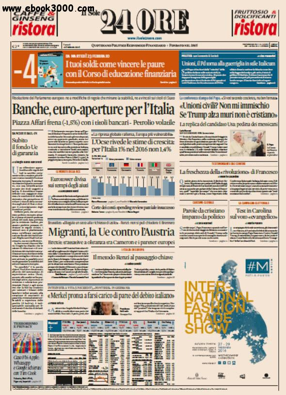 Il Sole 24 Ore - 19.02.2016 free download