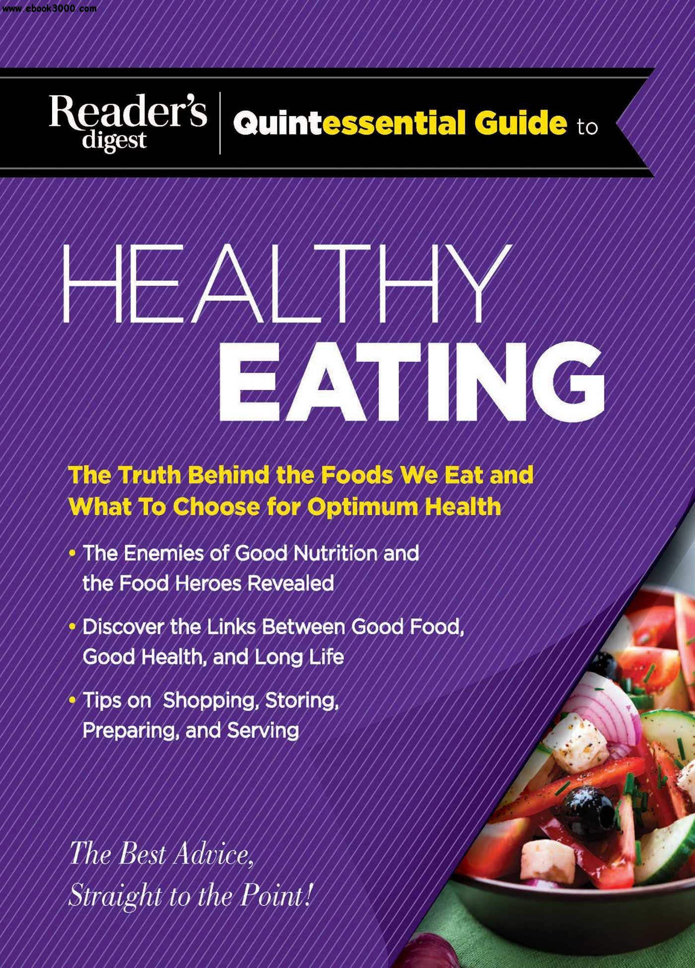 Reader's Digest Quintessential Guide to Healthy Eating free download