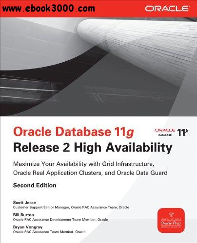 Oracle Database 11g Release 2 High Availability, 2nd edition free download