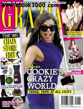 Grazia South Africa - 24 February 2016 free download