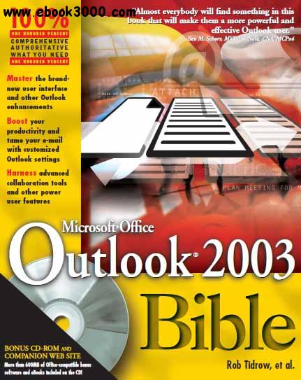 Outlook 2003 Bible free download