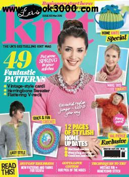 Let's Knit - March 2016 free download
