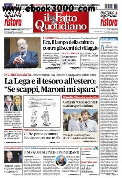 Il Fatto Quotidiano - 21.02.2016 free download