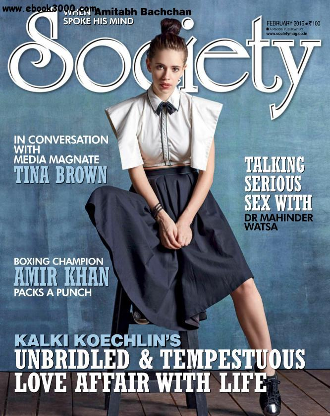 Society - February 2016 free download