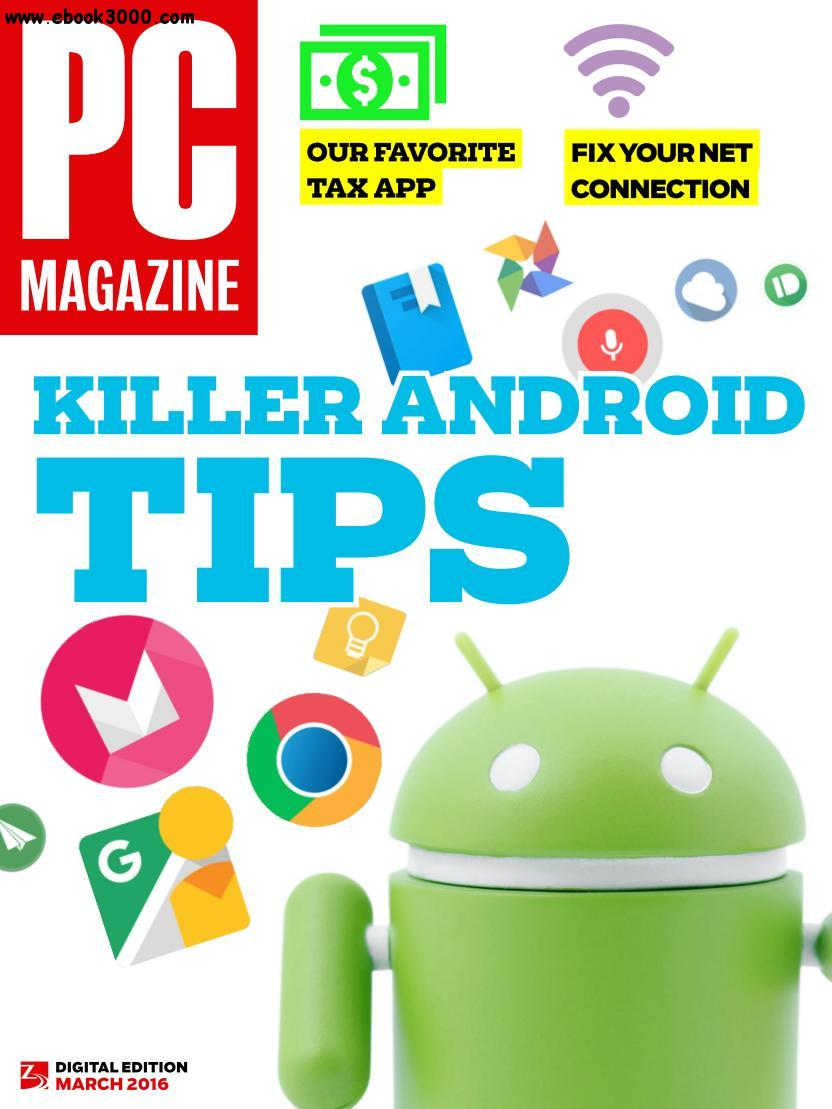 PC Magazine - March 2016 free download