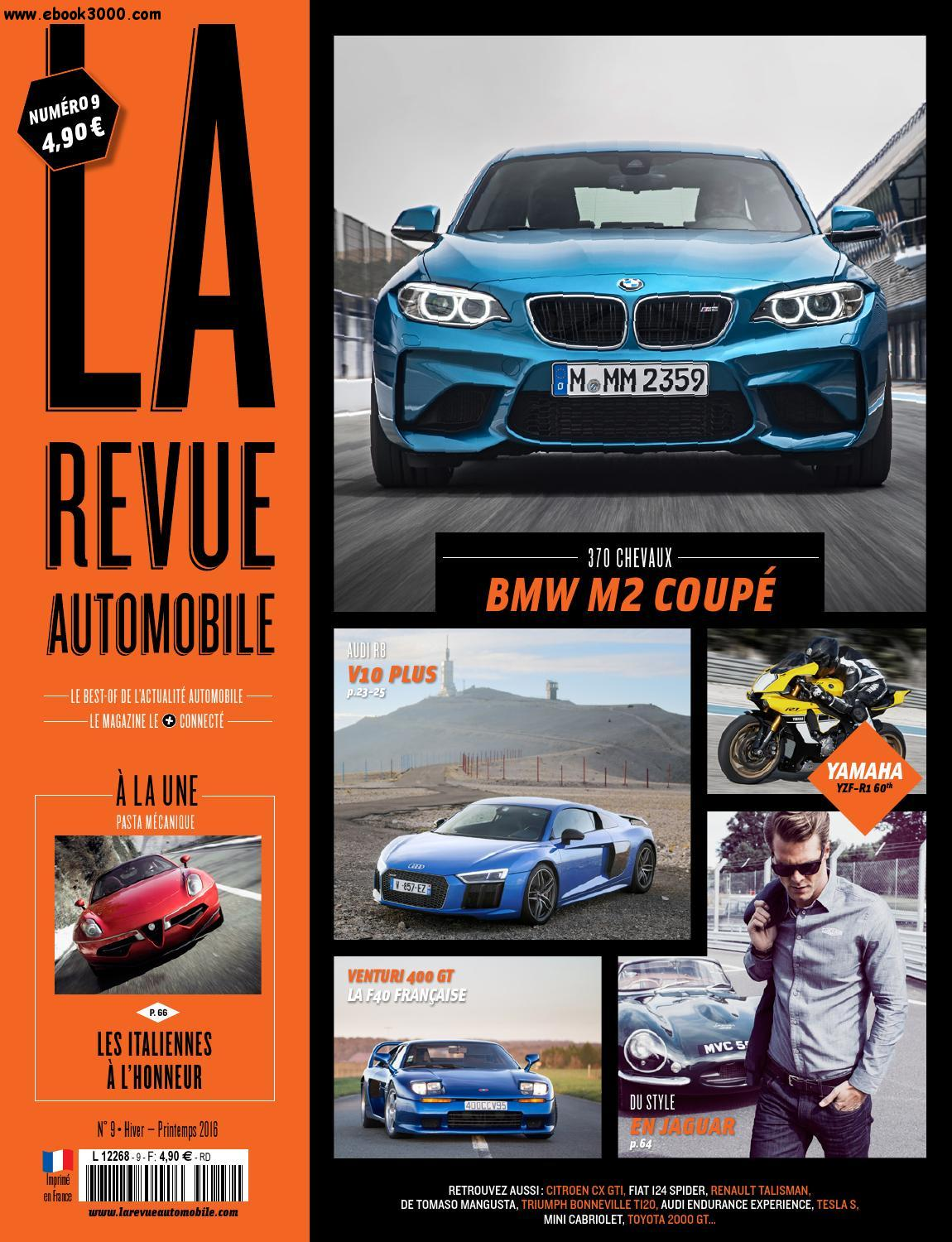 La Revue Automobile - Hiver/Printemps 2016 free download
