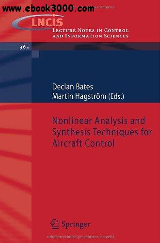 Nonlinear Analysis and Synthesis Techniques for Aircraft Control free download