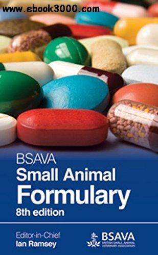 BSAVA Small Animal Formulary, 8th Edition free download
