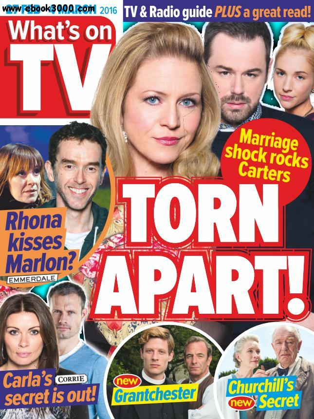 What's on TV - 27 February 2016 free download