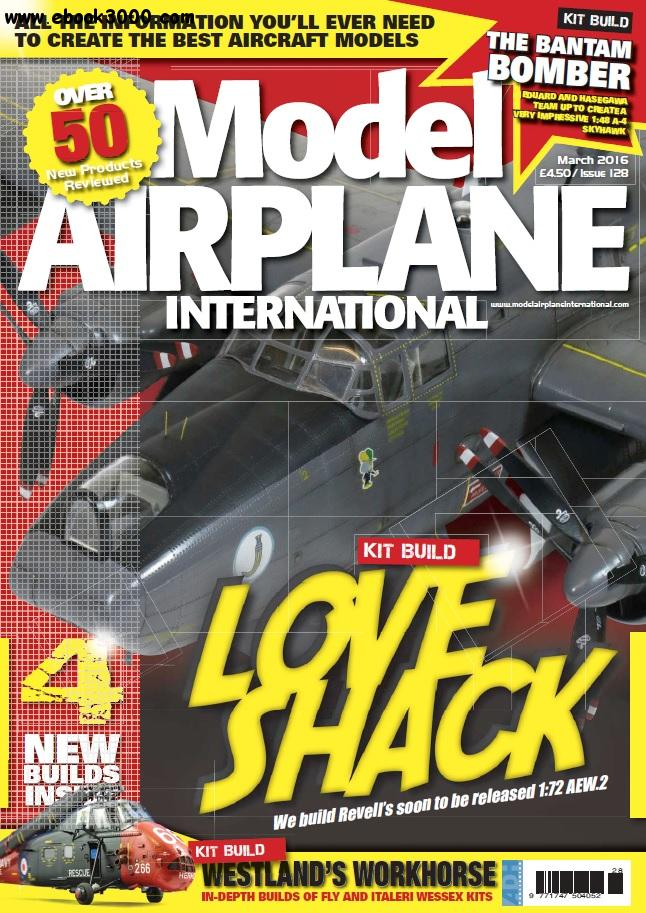 Model Airplane International - March 2016 free download